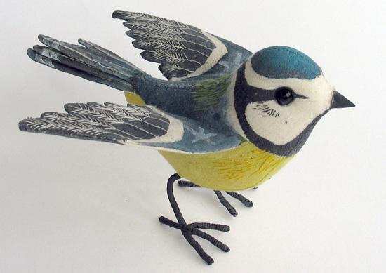 Emily Sutton - Tit azul con alas